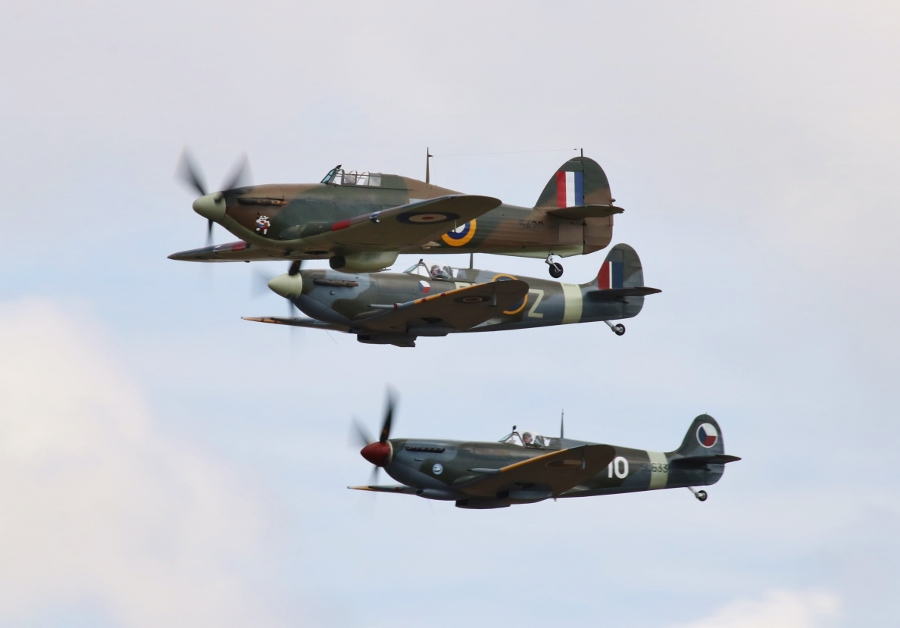 Legends of the Battle of Britain Vintage Aircraft Weekend 2016