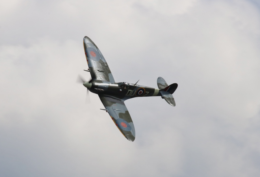 Flying Heritage Collection Supermarine Spitfire Mk.Vc Vintage Aircraft Weekend 2016