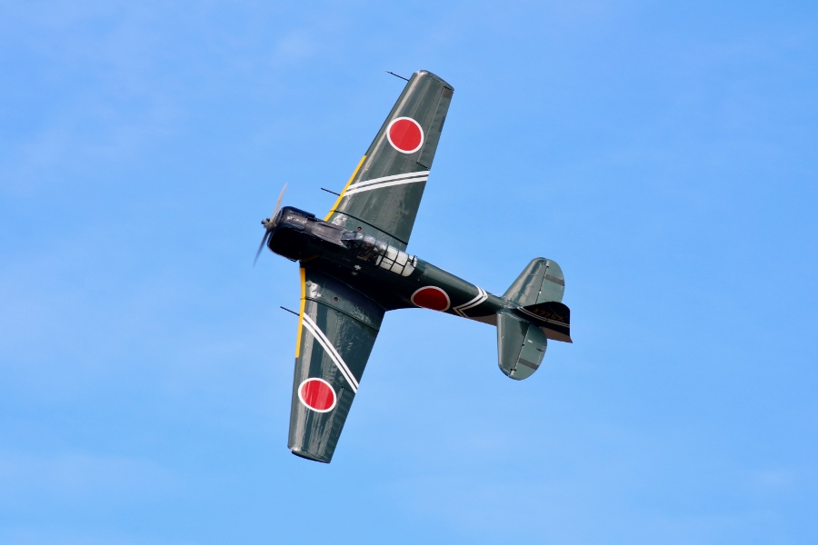 Tora A6M2 Zero replica Vintage Aircraft Weekend 2016