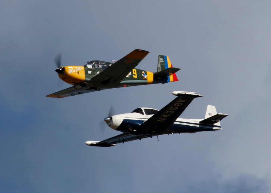 Cascade Warbirds - IAR-823 & Ryan Navion Vintage Aircraft Weekend 2016