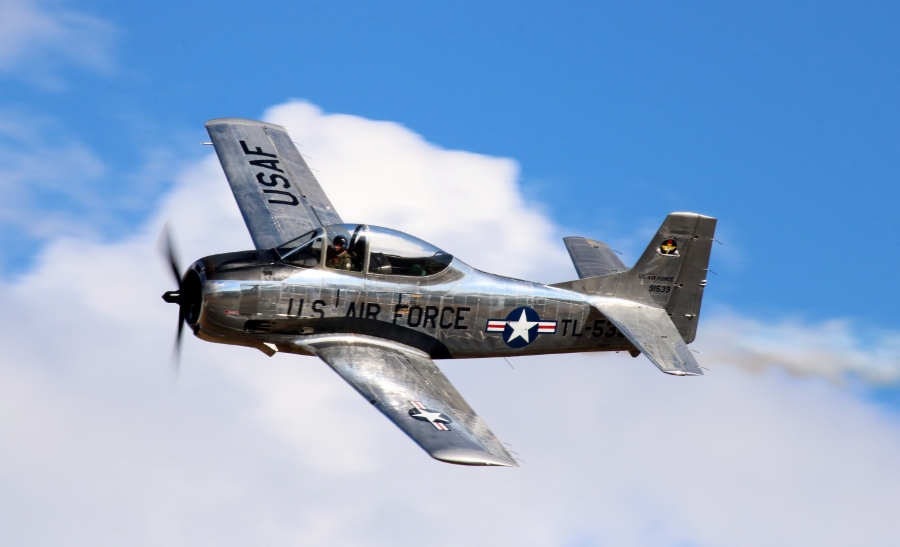 North American T-28 Trojan Vintage Aircraft Weekend 2016