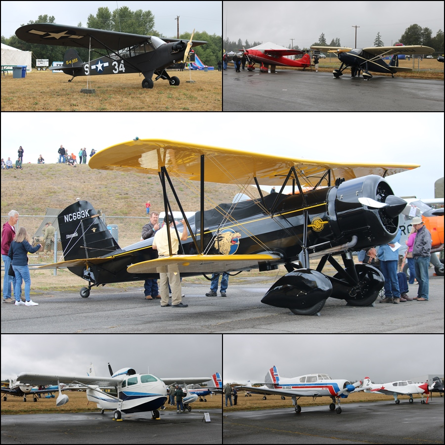 Vintage Aircraft Weekend 2016 Paine Field