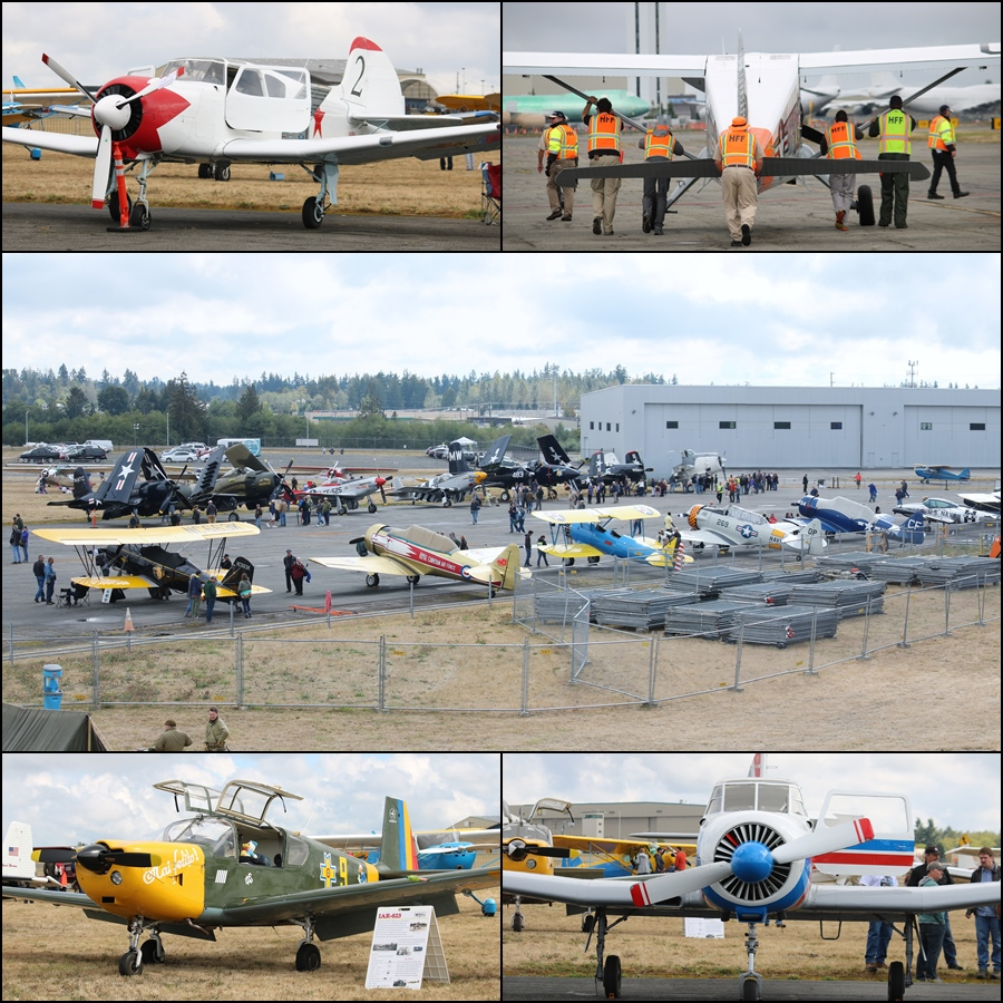 Vintage Aircraft Weekend 2016 Statics