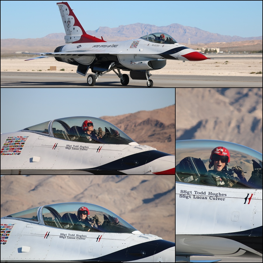 "USAF Thunderbird 2 - Captain Ryan ""Neo"" Bodenheimer Aviation Nation 2016"