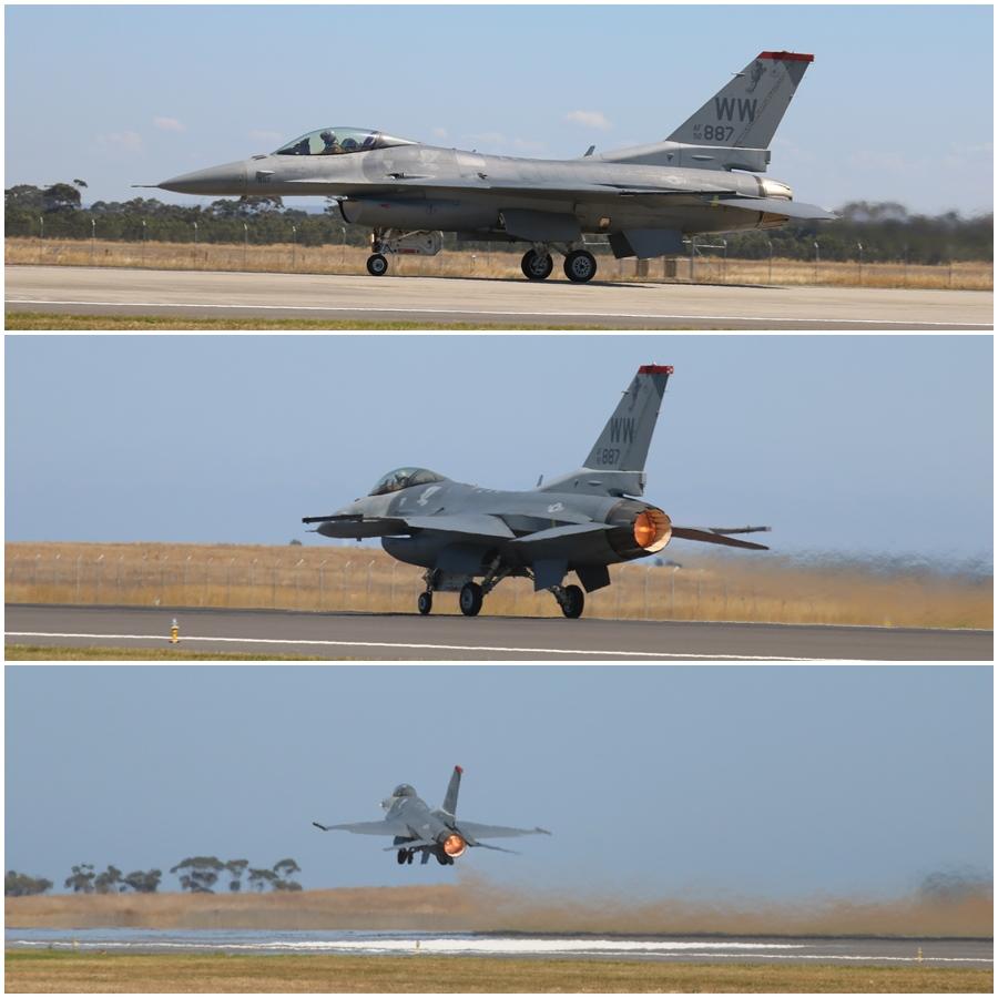 USAF F-16C Avalon 2017