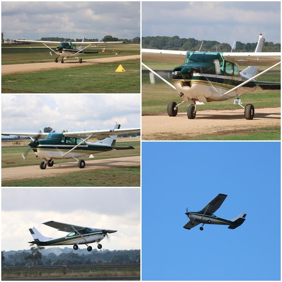 Kyneton Air Show 2017 Cessna 195