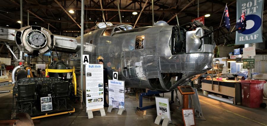 Werribee RAAF B-24 Liberator Restoration
