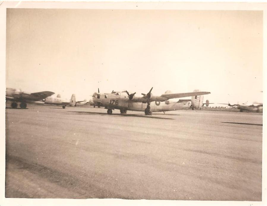 RAAF Consolidated B-24 Liberator A72-176 post World War Two at Tocumwal