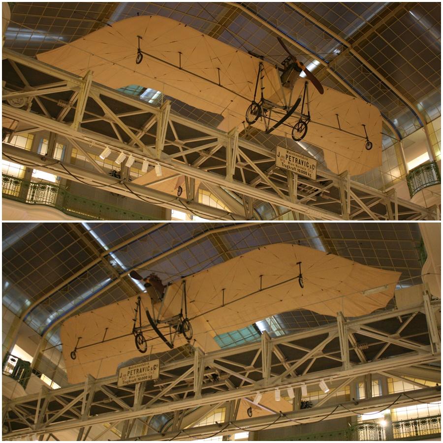 Etrich-II Taube (Dove) aircraft Technical Museum Vienna (Technisches Museum Wien) Austria