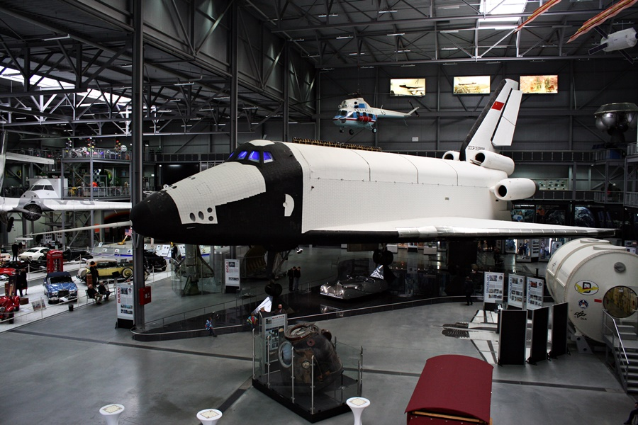 Technik Museum Speyer – Soviet Buran OK-GLI Aerodynamic Test Shuttle