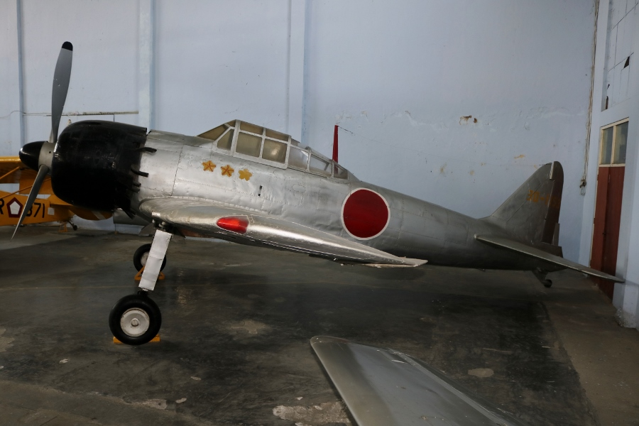 "Imperial Japanese Navy Mitsubishi A6M Zero ""Zeke"" – Indonesian Air Force Museum, Yogyakarta (May 2018)"