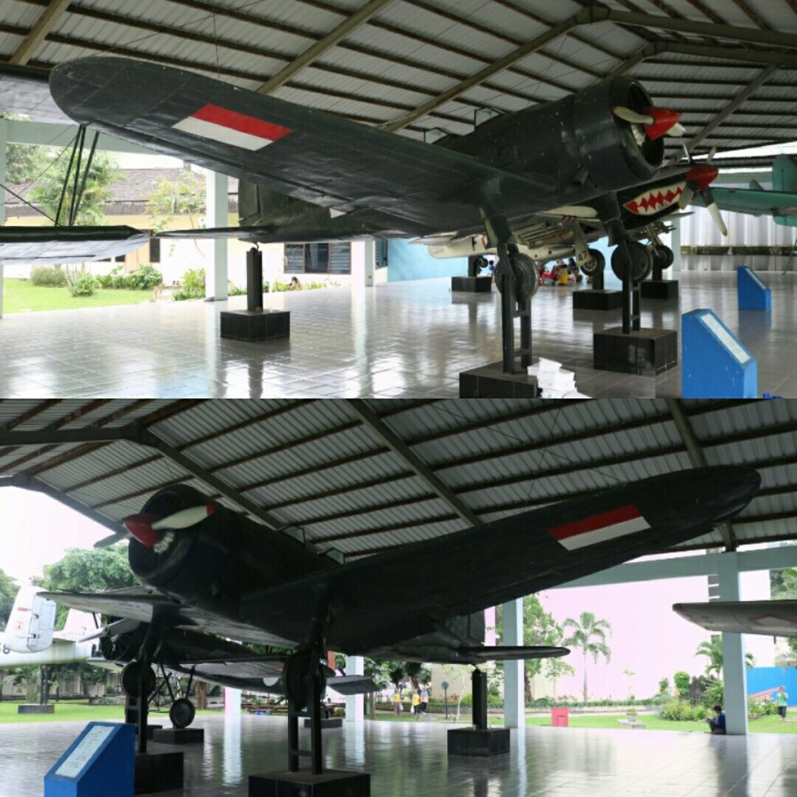 Nakajima Mansyū Ki-79 two seat trainer - Armed Forces Museum, Jakarta (April 2018)