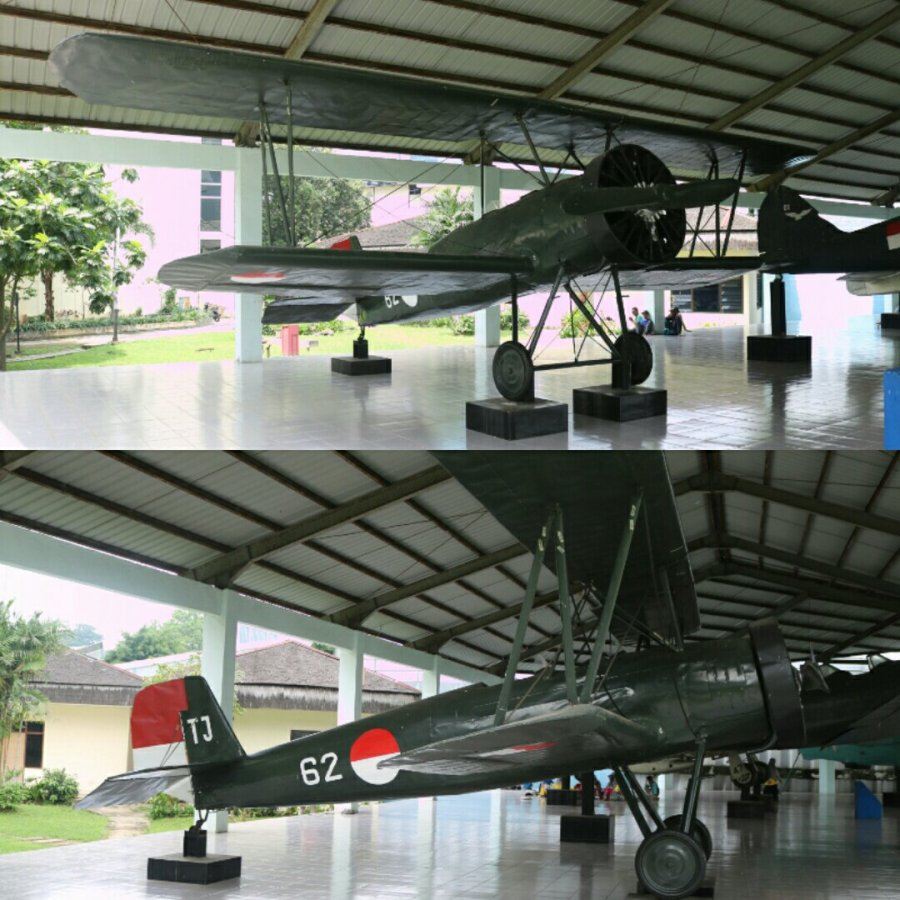 Hikoki K.K. (Japan Airplane Co Ltd) K5Y1 Cureng biplane trainer Indonesia Armed Forces Museum Jakarta