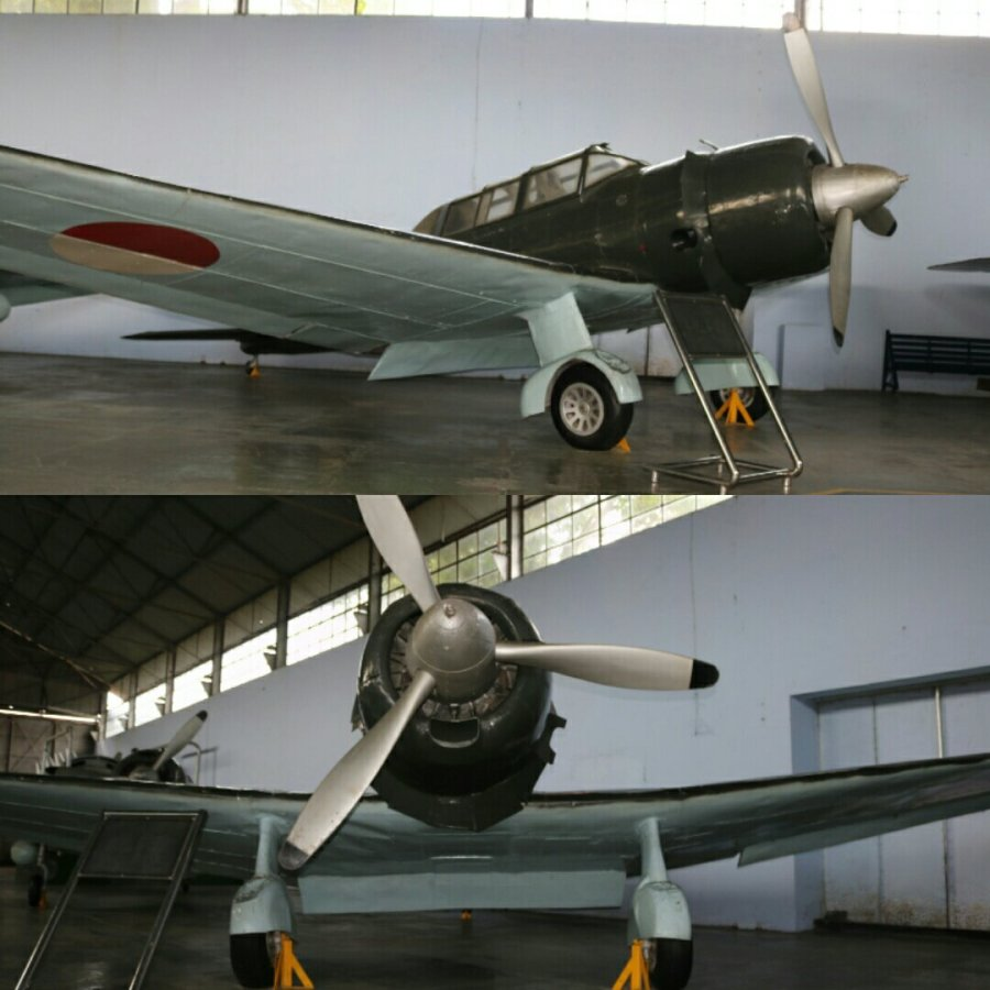 Dive Brake - Mitsubishi Type 99 Assault Plane Ki-51 Guntei