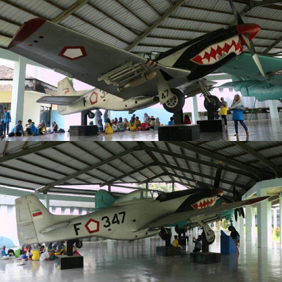 P-51D Mustang at the Indonesian Armed Forces Museum, Jakarta