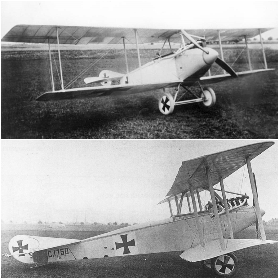 World War One Imperial German Air Service Aviatik C.III two seat reconnaissance biplane (Photo Source: Airwar.ru)