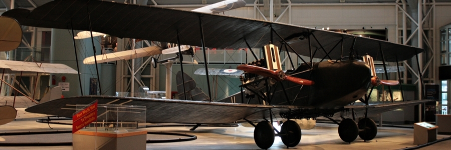 Rare Survivor: Imperial German Air Service AEG G.IV (Registration Number 574/18) biplane bomber at the Canada Aviation & Space Museum in Ottawa, Ontario