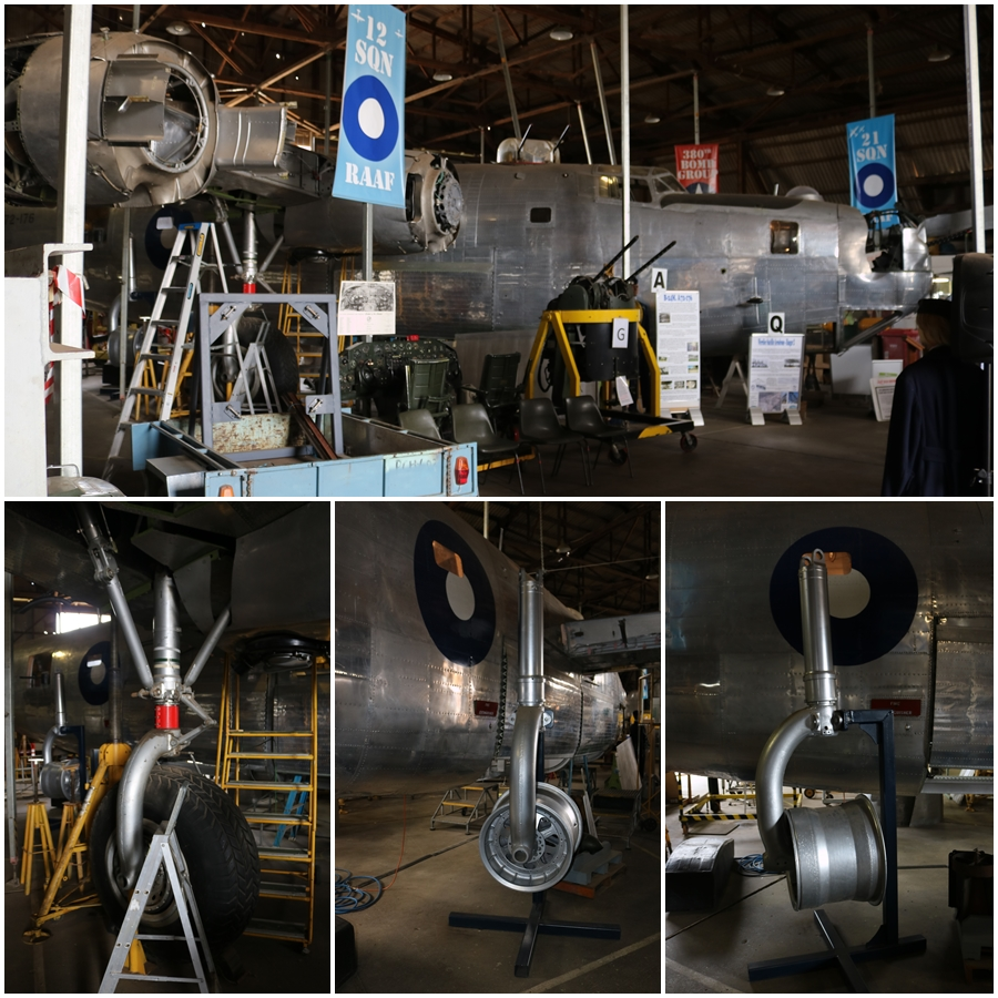 B-24 Liberator Memorial Restoration in Werribee, Victoria, November 2018