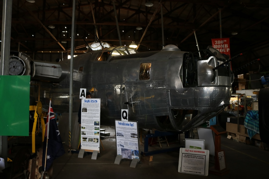 B-24M Liberator Memorial Restoration, Werribee - November 2018