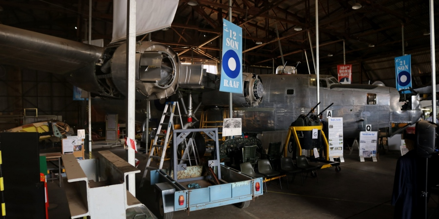 B-24 Liberator Memorial Restoration in Werribee, Victoria - November 2018
