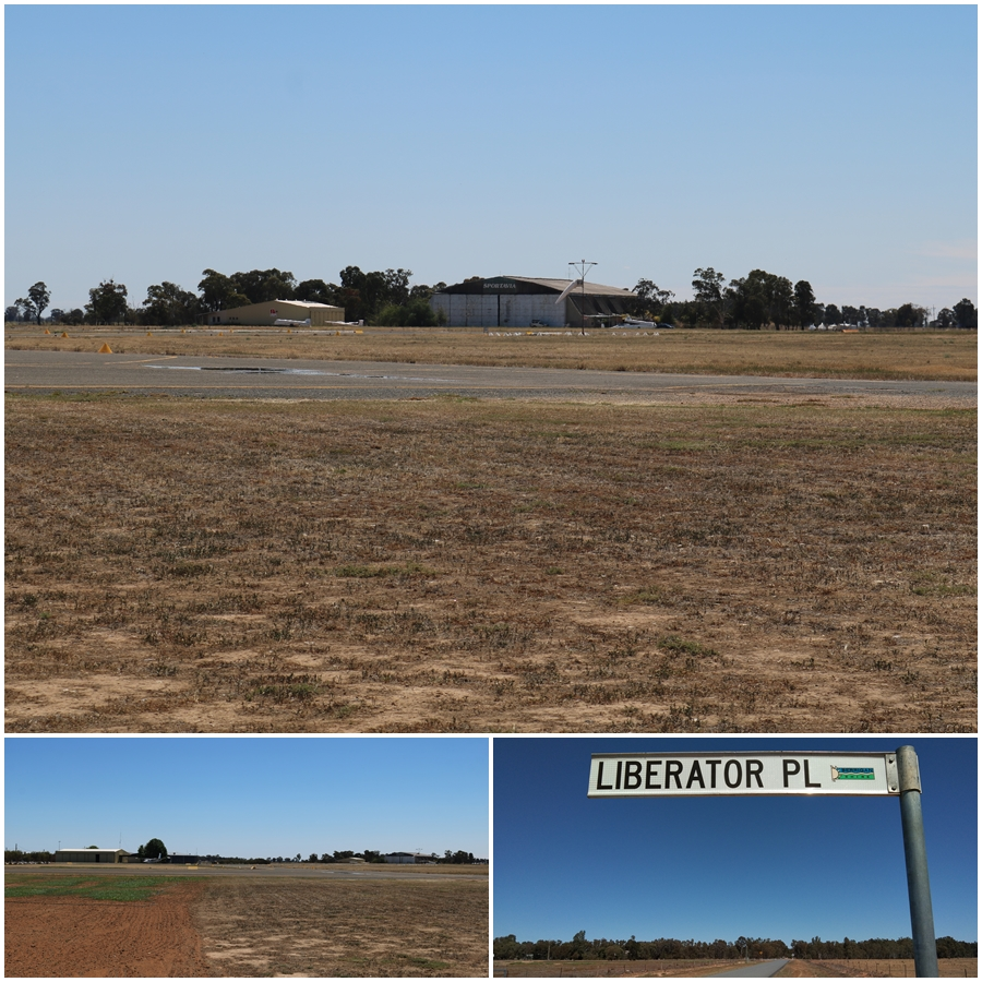 Old RAAF Tocumwal hangars can be found at the Tocumwal Airport - October 2018