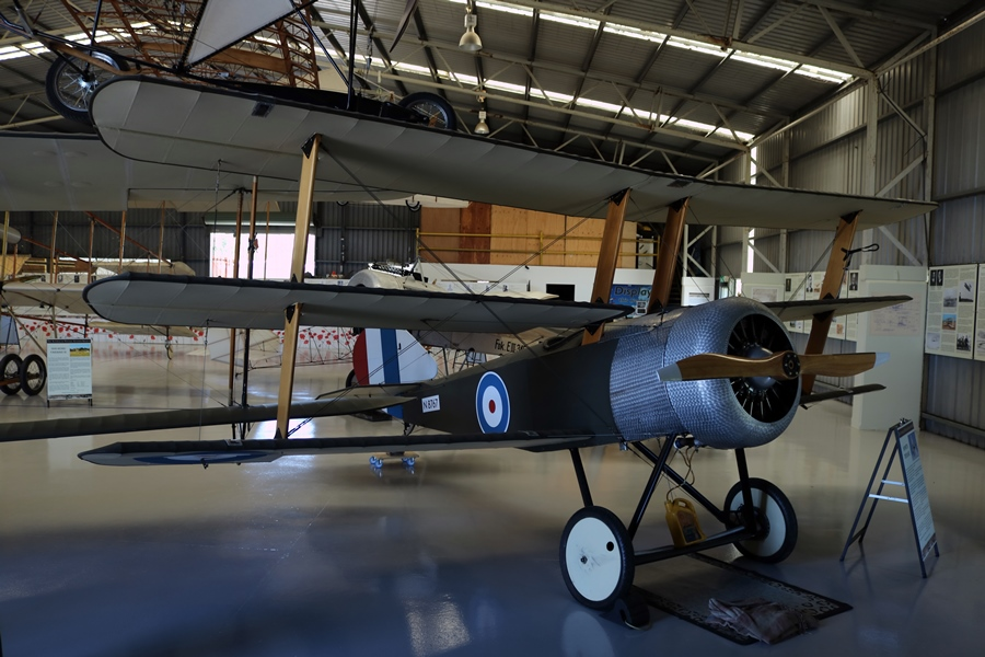 1917 Sopwith Triplane replica - TAVAS, Caboolture Aerodrome, Queensland (November 2018)
