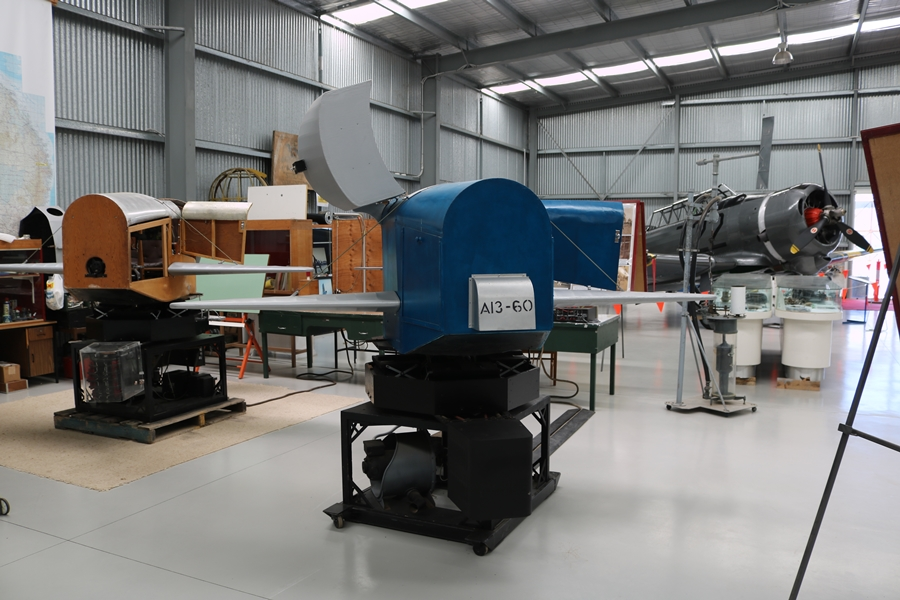 RAAF Link Trainers (A13-54 and A13-60) - Nhill Aviation Heritage Centre (January 2019)