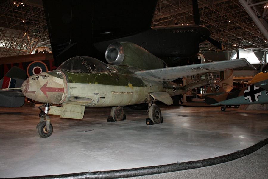 "The Survivors: Heinkel He 162 Volksjäger – Germany's ""Peoples Fighter"""